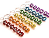 Mobius Knot Chainmaille Keychain