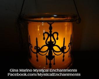 Halloween Lantern Luminary Chandelier