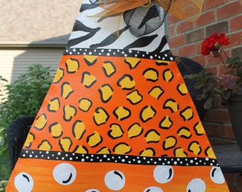 Candy Corn Halloween Door Decoration