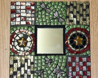 pastchwork Glass, Mosaic Mirror