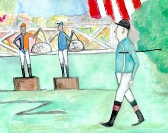 Lawn Jockeys vs Jockey