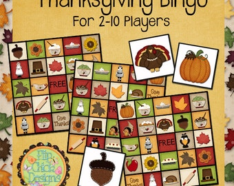 Printable Thanksgiving Bingo