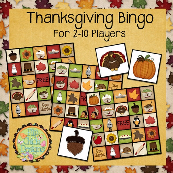 It's just an image of Lively Thanksgiving Bingo Cards Printable