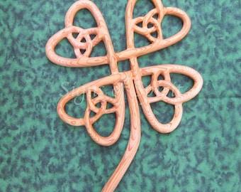 Four Leaf Clover-Celtic Symbol of Abundance-Lucky Clover-Luck of the Irish