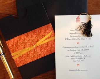 Graduation, Wedding Announcement - College Announcement, Custom Card