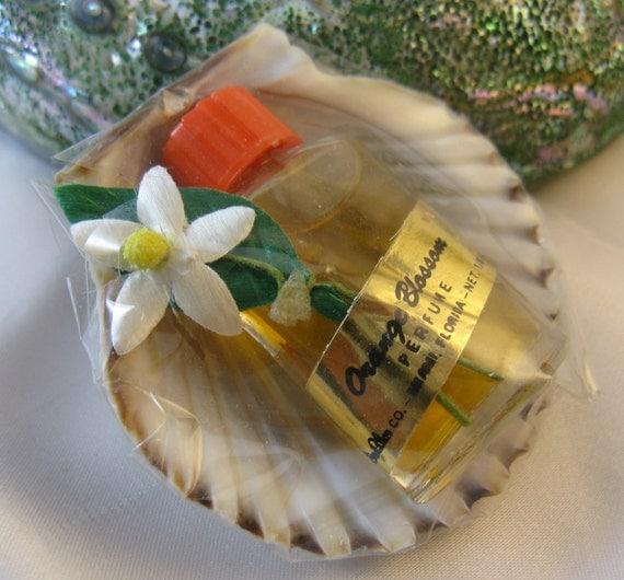 Fragrance Orange Blossom Perfume: Vintage 60s Orange Blossom Miniature Perfume Sealed With