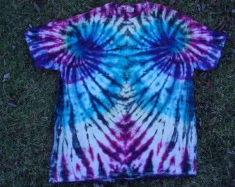 Tie Dye - Tshirt - XL - Men - Women - Hippie - Clothing - Christmas - Gift - Hanes BeefyT