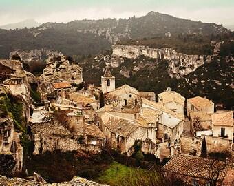Les Baux de Provence - 8x12 fine art photograph, France travel photography, French history, medieval village