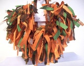 Shaggy Dog Costume collar  in Fall colors