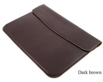 Apple MacBook 12 Inch Handmade Genuine Leather Sleeve Case (Full Flap)