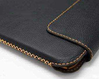 Apple iPad Air, Air 2 Genuine Leather Sleeve Case (Top closing) - FREE SHIPPING