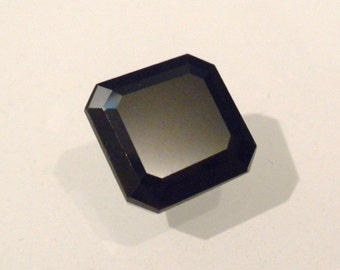 Natural 5.40 CT Octagon Shape Earth-Mined Solitaire BLACK DIAMOND