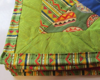 Toddler Receiving Blanket ~ Travel Blanet ~ Cuddle Blanket ~ Ready to Ship