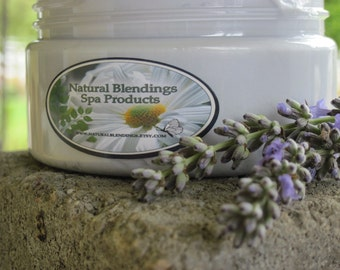 LAVENDER Whipped Body Parfait 8 oz jar Natural Blendings Most Popular Product Made to Order Custom Fragrance