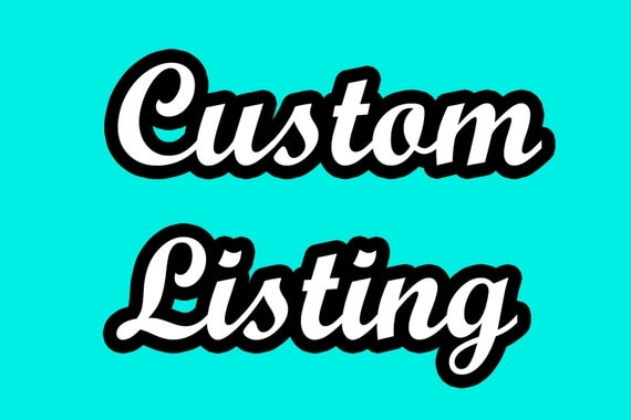 Custom Listing - Supplemental ribbon as discussed in convos