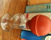 Vintage household kitsch ... VINTAGE Glass BREAST PUMP rare medical collectible ...
