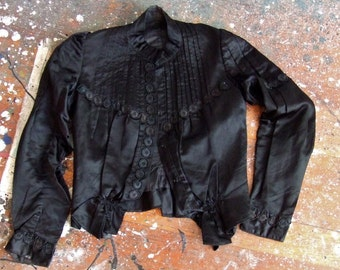 Vintage 1900s silk Edwardian jacket