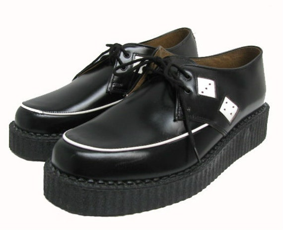 items similar to mens dice creepers from black