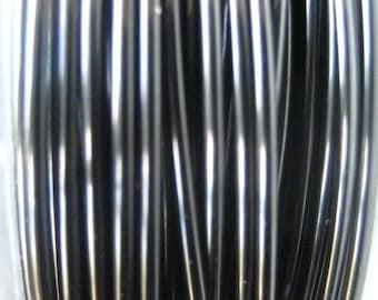 WIRE 12 ft -- 24 gauge  Viking Knit crochet Hematite Wire