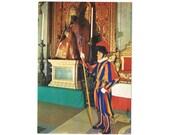 3 Vintage Uniform Postcards - Vatican City - Europe