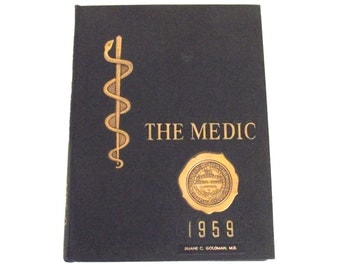 1959 The Medic, Yearbook for Hahnemann Medical College in Philadelphia, PA