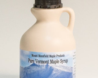 Pint Pure Vermont Maple Syrup (Choice Grade)