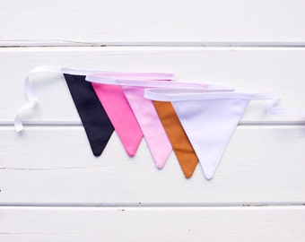 Navy Pink Copper Bunting Good Will Bunting Meg