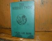 Vintage Bobbsey Twins children's book, Laura Lee Hope