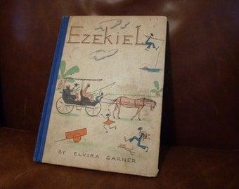 Vintage Black  Americana Ezekiel, A Book By Elvira Garner