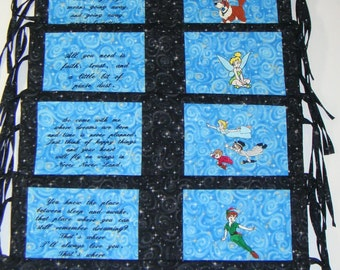 Peter Pan Bumper Pads 6 Piece Thomas Kinkade Peter Pan