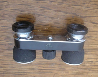 Miniature Binoculars Opera Glasses,Vintage, by TOKO Pride, Cloth Case