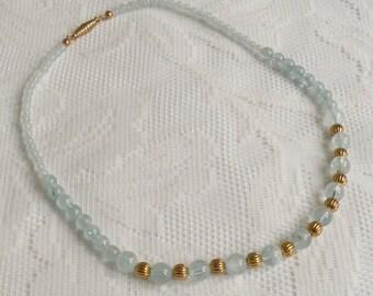 Aquamarine Delight Necklace - Aquamarine Gemstone