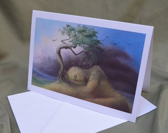 Nature's cycle- greetings card
