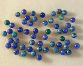 Riverstone Beads in Blue and Aqua