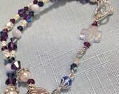 Double Rosary Style Bracelet