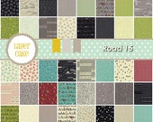 Road 15 - Layer Cake by Sweetwater for Moda (5520LC) 10 INCH Quilting Fabric
