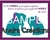 Elephant Mama and Babe fundraiser pdf file