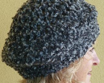 Bohemian Accessories Women Gray Crochet Hat