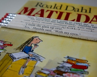 Matilda Wrapped Pencil Set