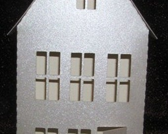 3D two story house from the village ledge series