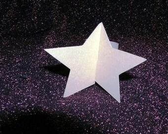 Star napkin ring set of six