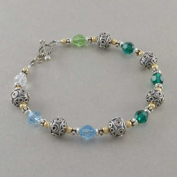 mothers bracelets birthstone bracelet by sixsistersbeadworks