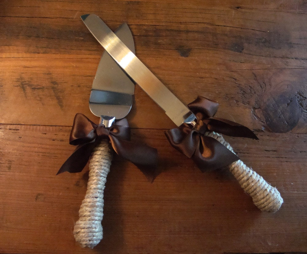 rustic wedding cake knife and server cottage chic rustic wedding cake server and knife set 7204