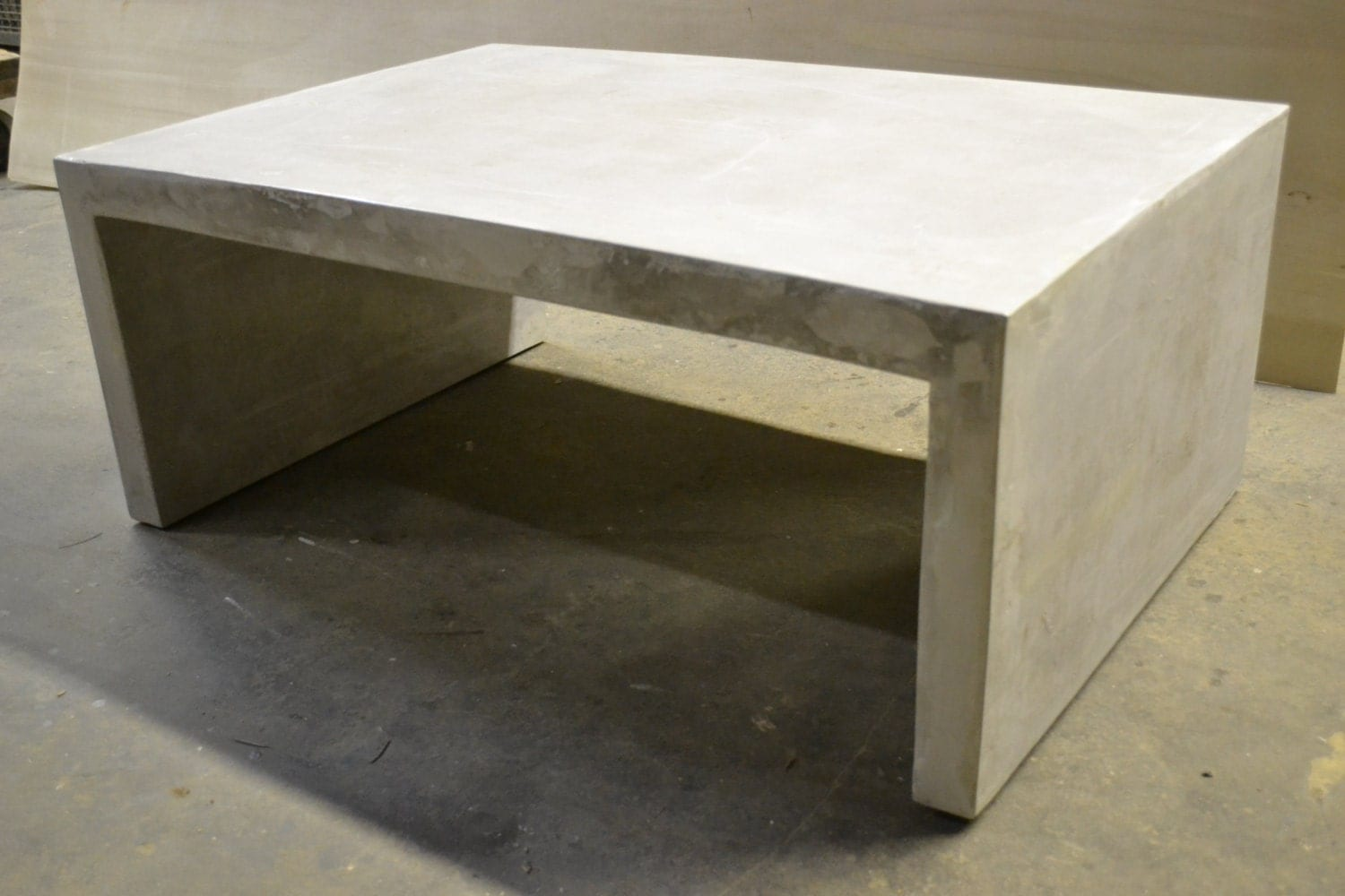 Concrete Slab Coffee Table Concrete Furniture By Decoratelier
