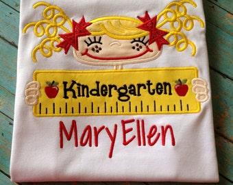 Kindergarten Personalized Tee Shirt
