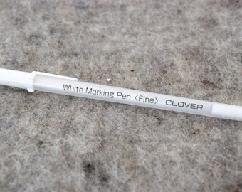 TEXTILE MARKING PEN - white - disappears when ironed