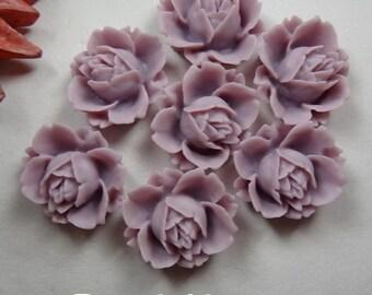 621-00-700-CA   6pcs Pretty Rose Cabochon - 003