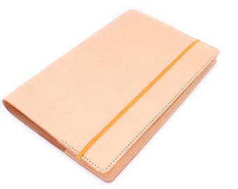 Large Leather Rhodia Webnotebook Cover for Webbie A5 Size