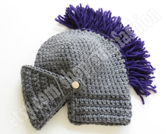 teen gift knight helmet hat crochet slouch mens convertible. Black Bedroom Furniture Sets. Home Design Ideas