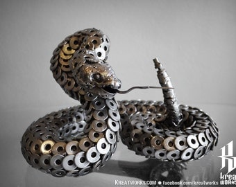 Metal Rattlesnake (Medium item)